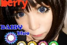 Daisy 16mm Berry Lenses / Shop now at http://shop.jeanmonique.com <3 Thanks loves! <3 #Anthea