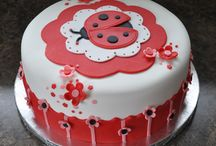 Ladybug Baby Shower Cakes / Ladybug Baby Shower Cake Ideas for your ladybug themed baby shower. / by Maternity and Baby Showers