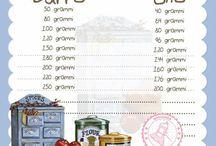sostituzione ingredienti