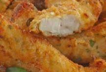 Isca de filé de frango