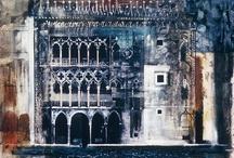 Phenomenal John Piper x 2 / Artists of Architecture