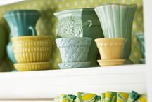 Vintage glass & pottery / Loving the Old and collecting an archive to enjoy! / by Elaine