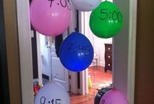 Birthday slumber party ideas