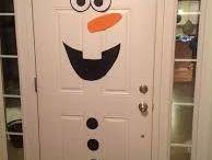 decoracion de navidad de frozen