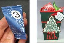 Christmas Cards, Free Templates / Card making projects and templates