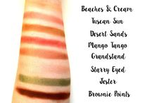 Makeup Swatches / Makeup Swatches, Shades, Colours