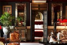 Exotic interior spaces