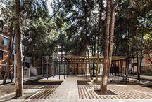 Interior: playground