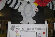 Grade 1 first day / by Daralyn Hadden