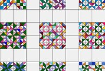 Quilting square designs/graph