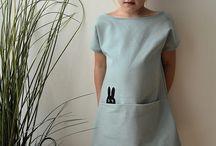 oblečení šití