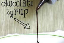 Chocolate syrup 2