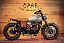 Triumph Bonneville T120 Dandy Bonnie by BAAK