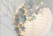 Rice paper lamp ideas