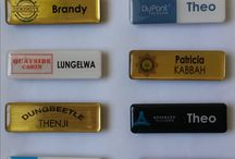 Assorted Name Badges