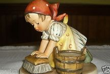 BEAUTIFUL VINTAGE HUMMEL FIGURINE-THE BIG HOUSECLEANING-MINT-GREAT CHRISTMAS GIFT