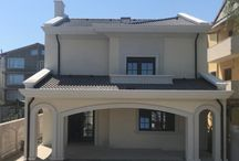 Casă Rezidentiala Ovidiu, Constanta / Casa rezidentiala situata in Constanta, innobilata cu elemente arhitecturale in stil mediteranean.