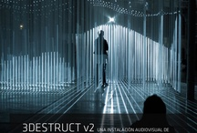 3DESTRUCTv2 / 3DESTRUCTv2,  Audiovisual Installation by Yannick Jacquet, Jeremie Peeters & Thomas Vaquie,  http://antivj.com/3Destruct_v2/, presented by Mutek.mx and cocolab.mx, April 13, 2013