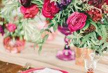 Color Themes for Weddings /  Different color theme options to choose for your wedding.