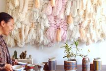 Wall Hangings / Macramè, wall hangings and weaving
