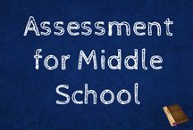 Assessment for Middle School / Formative assessment ideas, summative assessment ideas and  documentation of all that data!
