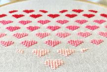 Stitchery / Cross stitching and embroidery ideas
