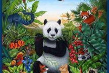 Panda Bears ♡♡♡