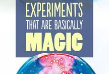 Experiments with kids