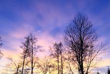 Finland; nature, lakes, skyes