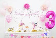 PINK&HEARTS THEMED BIRTHDAY PARTY