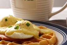 Waffles with EB / Recreate your traditional waffles by making them the star of some of your favorite recipes