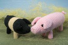 Create: Crochet Animals: Farm / by Kaitlyn L
