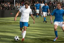 Carlos and Daniil playing football in Mexico / Carlos Sainz and Daniil Kvyat, ahead of the 2016 Mexican Grand Prix, took part in a 5-a-side football tournament, the Telcel Football 5 Game, which took place on a rooftop pitch in Mexico City.    #F1 #MexicanGP  #F1 #tororosso #kvyat #sainz #redbull #soccer #mexico #football   Full Scuderia Toro Rosso galleries on http://win.gs/str_galleries. Wallpaper download section on http://win.gs/str_download.