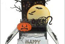 Halloween box cards