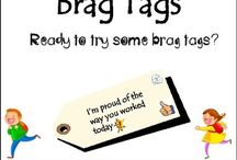 Brag Tags: Incentives for Academic Goals / Brag Tags: Incentives for Academic Goals. Brag tags are an inexpensive and effective way to motivate students to meet academic goals! This bundle includes 92 different tags!