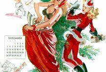 Joyce Ballantine Calendar 1956