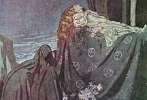 Illustrations ... Story ... Sleeping Beauty