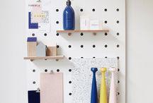 Peg Board Tokola's Showroom