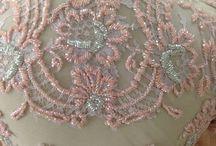 Beads Back Details / Kebaya