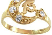 Anillos para Quinceañeras / anillos de 15 años