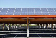 ombrière parking photovoltaique
