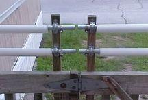 cat fence roller