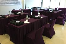 Meeting Rooms / Our Meeting room caters up to 40 persons in class rom style. Our restaurant and pool deck on the top floor are suitable for group private dinner up to 120 persons.