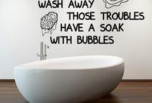Wallsticker per il bagno