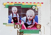 Boy Scrapbook Pages
