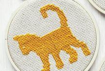cross stitch / by Gretchen Konieczko