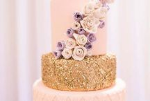 Pink, glitter & gold