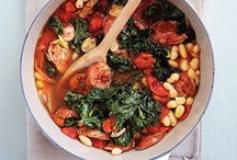 Potentially delicious: soups/stews. / Recipes to try: soups and stews.