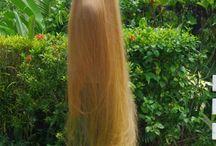 lange Haare long Hair
