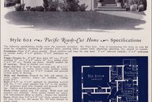 Old house plans and renderings / Older home designs that are  pre 1960's